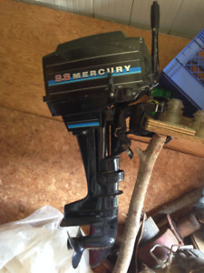 Boat and Mercury outboard !