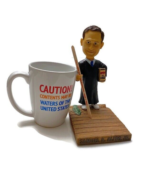Samuel Alito Supreme Court Justice Bobblehead Green Bag