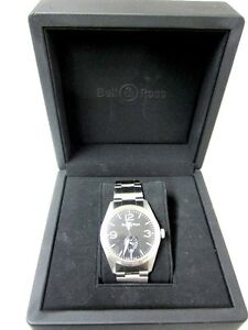 Bell & Ross Automatic Vintage Original Watch BR-123-SS-95-12252 London Ontario image 2
