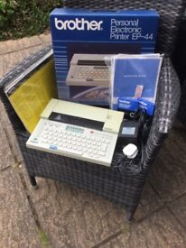 Brother EP-44 Portable Electronic Printer Typewriter Word processor Computer