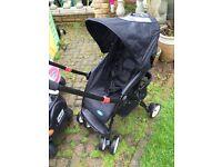 Parent / world facing lightweight buggy stroller pushchair pram
