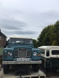LAND ROVER SERIES 3. TAX EXEMPT.OVERDRIVE