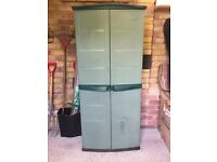 B&Q Compact Outdoor Tool Cabinet