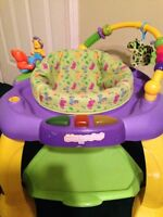 Bright Starts Bounce Baby Exersaucer