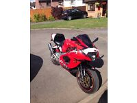 RSV 1000 2002 with 14k miles swaps for R1 or GSXR