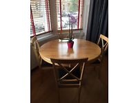 Dining/Kitchen Table plus 4 Chairs - REDUCED PRICE **£75**