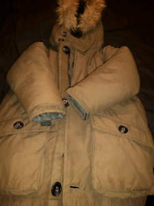 Army green gapkids downfilled boys winter coat