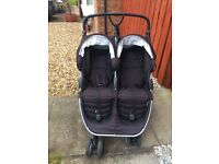 Britax double buggy with waterproof