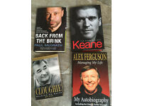 4 Football autobiography books