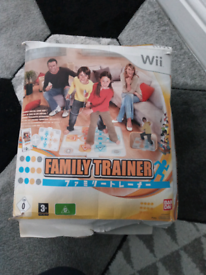 Family trainer for wii