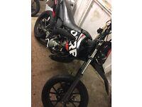 2012 derbi senda super moto 50cc SWAPS OR SELL