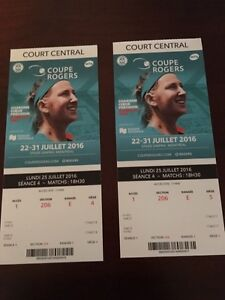 Tennis tickets Rogers Cup