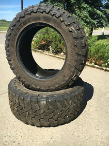 "35"" Toyo Open Country Tires - used"