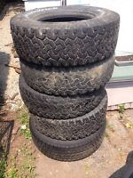 Tires need gone ASAP