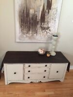 Antique Sideboard/Entertainment Console/ TV Stand