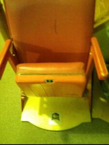 Hockey Maple leaf gardens seat