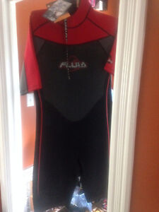 New with tags Fluid wetsuit, mens xlarge