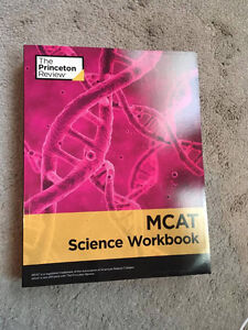 Princeton Review MCAT Science Workbook and ICC, NEW