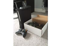 XBOX 360 ALL WIRES INCLUDED DECENT CONDITION