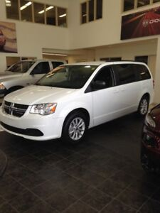 $217/Bi-Weekly - NEW 2017 Dodge Grand Caravan SXT