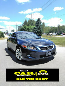 2008 Honda Accord EX-L Coupe - Safety - ETEST - Warranty -