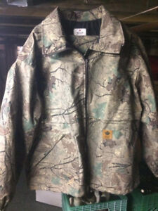 Men's XL non-insulated hunting suit