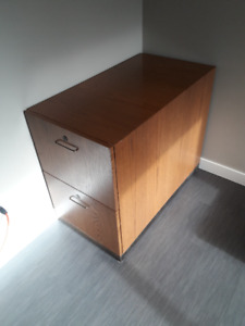 Solid Oak Filing Cabinet