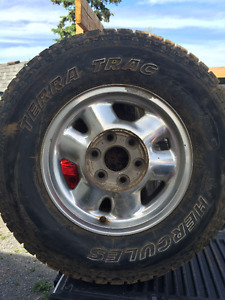 245/75 R16 tires & chevy rims