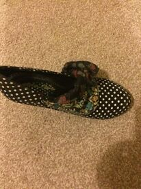 Irregular choice mutiny shoes, size 5