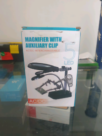 Magnifier with Auxiliary clip