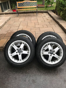 Winter Tires and Mags / 5 x 108 / Volvo S40/C40/V40/Ford