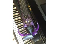 Electric silent 5 string violin Ted Brewer Vivo 2