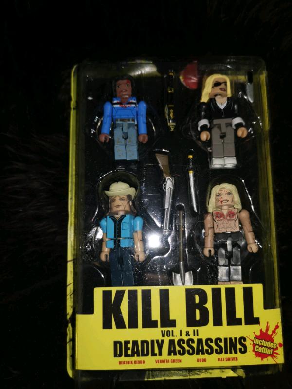Kill Bill Minimates Deadly assassins Vernita Green