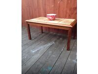 1970s retro coffee table, bargain can deliver