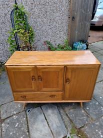 Original Ercol Vintage Windsor Sideboard (elm wood)