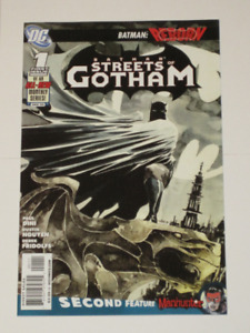 DC Comics Batman Streets of Gotham#1 comic book