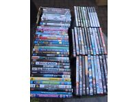 Job lot of assorted DVDs and x4 PlayStation games
