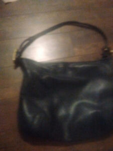 Vintage leather coach bag St. John's Newfoundland image 1