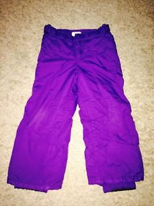 Size 4 Children's Place Warm Purple Snow Pants! Regina Regina Area image 1