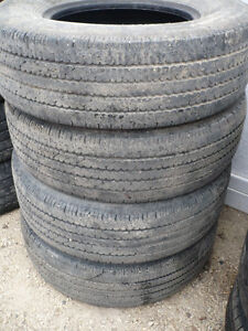 "4- LT245/75R16"" TRUCK TIRES- 10 PLY"