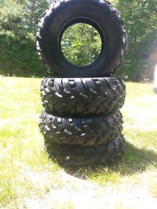 4 like brand new atv tires