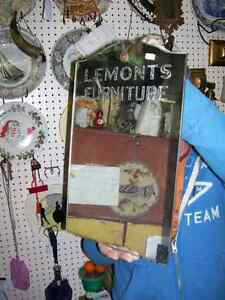 Antique Lemont's Furniture Store Fredericton NB Mirror