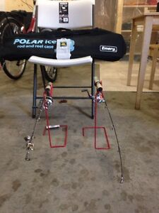 Fishing rod with stand & bag