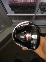 2 Taylormade R15 driver heads & Taylormade R15 Rescue.