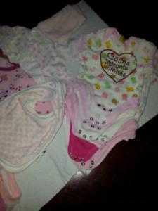 Lot vêtements pour bébé (21 mcx)