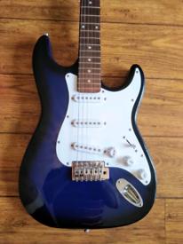 Blueburst Strat - Like New
