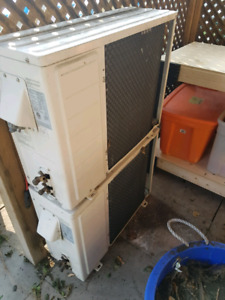 Ductless air conditioner compressors