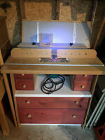 Shaper Bench with Makita Router