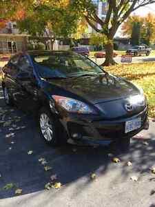 2012 Mazda Mazda3 Black on black Sedan