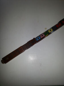 Handcrafted wooden flute